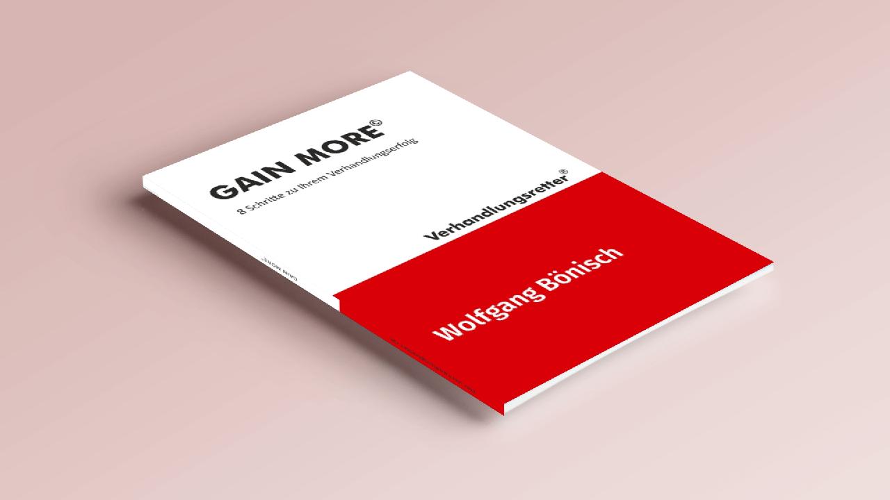 GAIN MORE: Verhandlungsratgeber